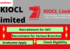 KIOCL limited recruitment banner, GET Job, Graduates