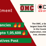 OMC recruitment with details regarding number of vacancy, post and salary.