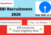 sbi recruitment banner 439 vacancies