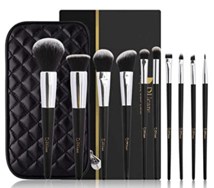 image of Ducare synthetic hair makeup brushes