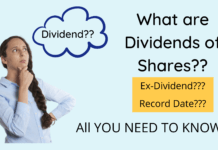 Information about Dividend of shares